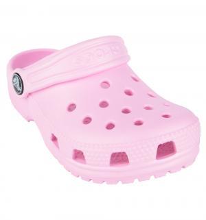 Сабо  Classic Clog K Cntn C6, цвет: розовый Crocs