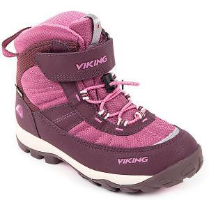 Ботинки Sludd EL/VEL GTX Viking для девочки. Цвет: лиловый