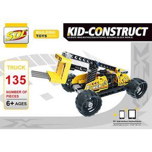 3D-Конструктор  Kid-Construct Погрузчик, 135 деталей SDL