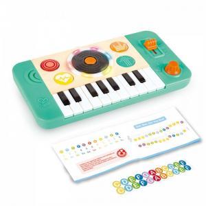 Музыкальный инструмент  Синтезатор со звуком и светом Hape