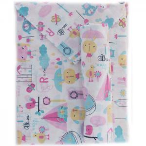 Постельное белье  Девочки (3 предмета) малый Daisy