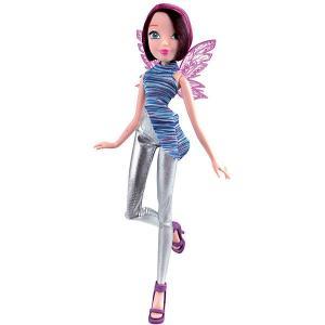 Кукла  Рок-н-ролл Техна Winx Club. Цвет: разноцветный