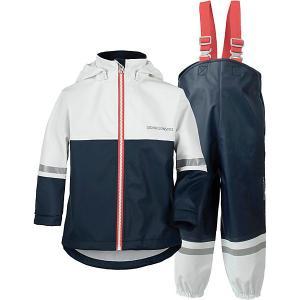 Непромокаемый комплект: куртка и брюки WATERMAN DIDRIKSONS1913. Цвет: синий
