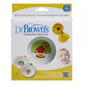Тарелка глубокая Dr.Browns , цвет: белый Dr.Brown's