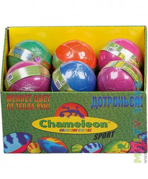 Большой мяч для футбола, меняющий цвет в ассортименте Mookie