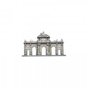 Сборная модель Ворота Алькала Умная Бумага