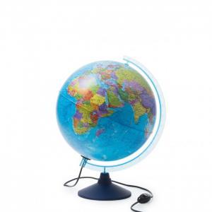 Глобус Земли интерактивный политический с подсветкой и очками VR 320 мм Globen