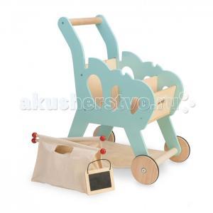 Деревянная игрушка  Игровой набор Продуктовая тележка LeToyVan