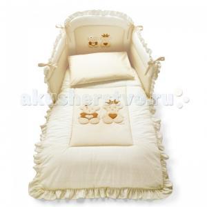 Комплект в кроватку  Caprice Royal (4 предмета) Pali