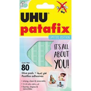 Клеящие подушечки  Patafix Пастельные, 80 штук UHU. Цвет: разноцветный