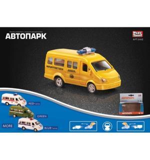 Микроавтобус  Газель желтая Play Smart
