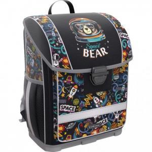 Ученический ранец с пластиковым дном ErgoLine Space Bear 16 л Erich Krause
