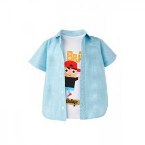 Комплект для мальчика (рубашка, футболка) 872.115.921 Goldy