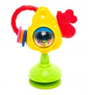 Развивающая игрушка  Мышка с сыром и крекерами, 21 см Chicco