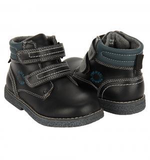 Ботинки , цвет: черный Прыг-Скок