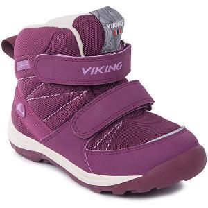 Ботинки Rissa GTX Viking для девочки. Цвет: розовый
