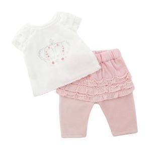 Одеждя для куклы  Футболка и штанишки, 38-43 см (розовый) Mary Poppins