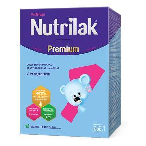 Молочная смесь  Premium 1, с 0 мес, 600 г Nutrilak