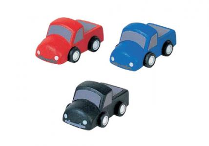 Деревянная игрушка  Мини грузовики Plan Toys