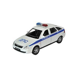 Модель машины  1:34-39 LADA PRIORA ПОЛИЦИЯ, Welly