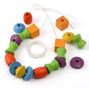 Деревянная игрушка  Игра Собери бусы Plan Toys