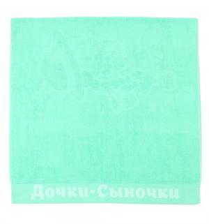 Полотенце  90 х 50 см, цвет: бирюзовый Leader Kids