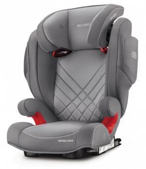 Автокресло  Monza Nova 2 seatfix, цвет: aluminum grey Recaro