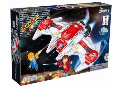 Конструктор  Космический летательный аппарат 168 элементов BanBao