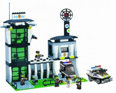Riot Police Office (589 деталей) Enlighten Brick