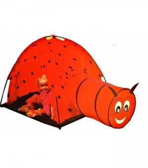 Палатка с тоннелем Божья коровка 8902 Iplay