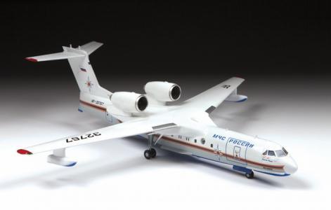 Сборная модель Российский самолет-амфибия Бе-200 Звезда