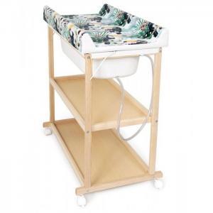 Пеленальный столик  Laura матрасик Flora & Fauna Tucan Ceba Baby