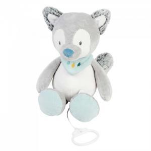 Мягкая игрушка  Musical Soft toy Tim & Tiloo Волк музыкальная 30 см Nattou