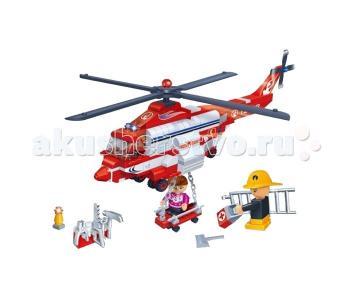 Конструктор  Вертолет пожарный BanBao