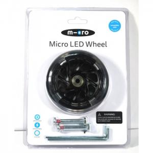 Колеса светящиеся для самоката Led 120 мм 2 шт. Micro