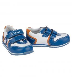 Кроссовки , цвет: голубой El Tempo