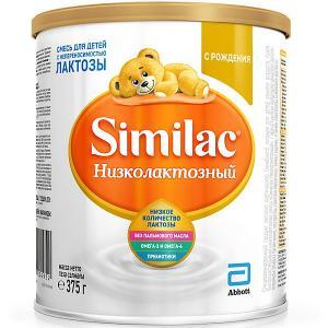 Молочная смесь  Низколактозный, с 0 мес, 375 г Similac