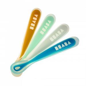 Набор эргономических ложек  Set 4 ergo spoon 1ST age Beaba