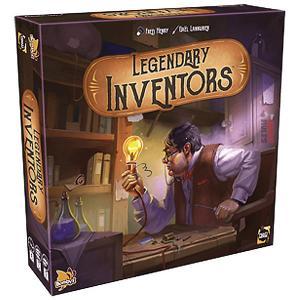 Настольная игра  Легендарные изобретатели Asmodee