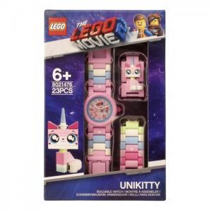 Часы  наручные аналоговые Movie 2 с минифигурой Unikitty на ремешке Lego