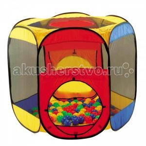 Дом-палатка + 100 шаров Многоугольник Calida