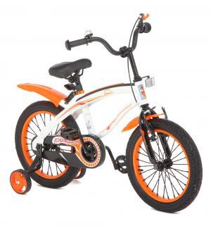 Велосипед  G16BM, цвет: белый/оранжевый Capella