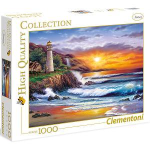 Пазл  Маяк на закате, 1000 элементов Clementoni