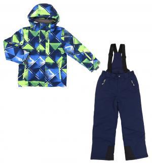 Комплект куртка/полукомбинезон , цвет: синий Kalborn