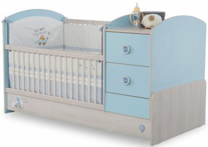 Кроватка-трансформер  Baby Boy 160х75 см Cilek