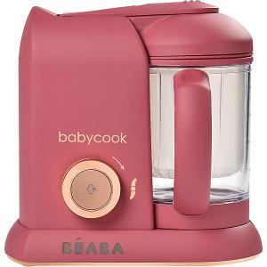 Блендер-пароварка Beaba Babycook Solo Litchee BÉABA. Цвет: темно-розовый
