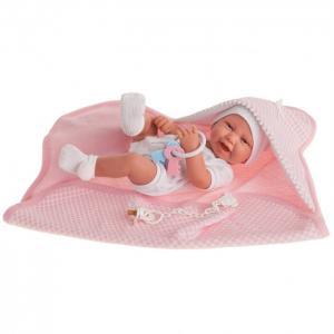 Кукла Луиза в розовом 42 см Munecas Antonio Juan