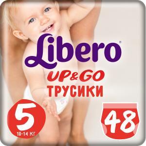 Трусики-подгузники  Up & Go, р. 5, 10-14 кг, 48 шт Libero