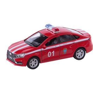 Машинка  Lada Vesta Пожарная охрана, 1:34-39 Welly