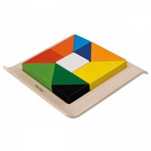 Деревянная игрушка  Рамка-вкладыш Геометрические фигуры Plan Toys